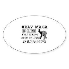 Krav Maga is life Decal