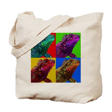 Iguana Icon Tote Bag