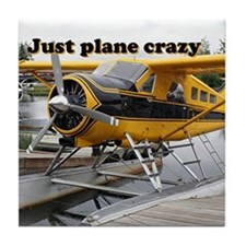 Just plane crazy: Beaver float plane, Alaska Tile