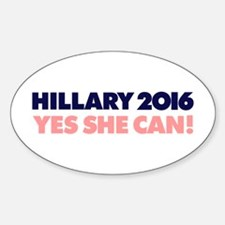 Yes She Can Decal