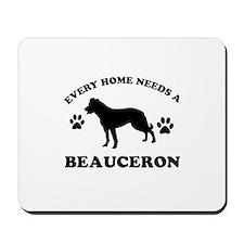 Every home needs a Beauceron Mousepad