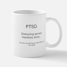PTSD - extra button Mug