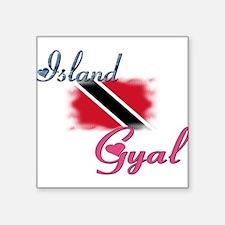 Island Gyal - Trini Rectangle Sticker