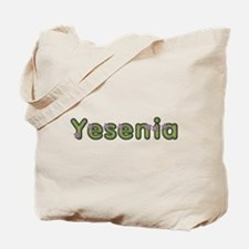 Yesenia Spring Green Tote Bag