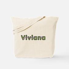 Viviana Spring Green Tote Bag