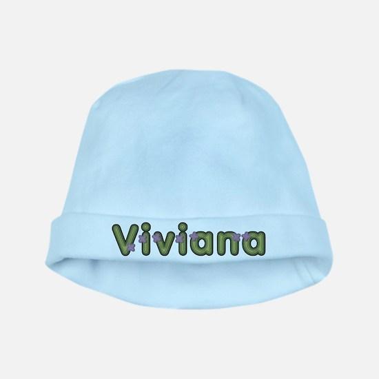 Viviana Spring Green baby hat