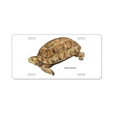Desert Tortoise Aluminum License Plate