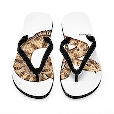 Sidewinder Snake Flip Flops