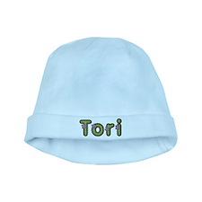 Tori Spring Green baby hat