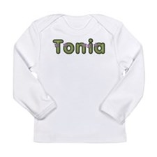 Tonia Spring Green Long Sleeve T-Shirt