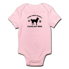 Every home needs a Canaan Dog Infant Bodysuit