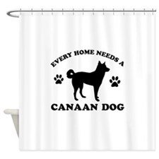 Every home needs a Canaan Dog Shower Curtain