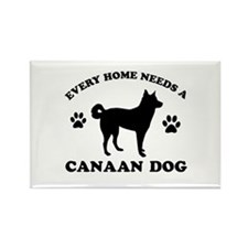 Every home needs a Canaan Dog Rectangle Magnet (10