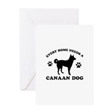 Every home needs a Canaan Dog Greeting Card