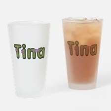 Tina Spring Green Drinking Glass