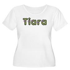 Tiara Spring Green Plus Size T-Shirt
