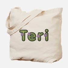 Teri Spring Green Tote Bag