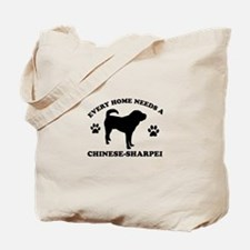 Every home needs a Chinese Sharpei Tote Bag