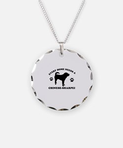 Every home needs a Chinese Sharpei Necklace