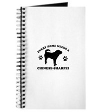 Every home needs a Chinese Sharpei Journal