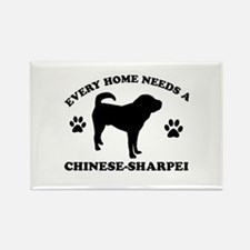 Every home needs a Chinese Sharpei Rectangle Magne