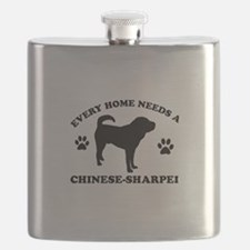 Every home needs a Chinese Sharpei Flask