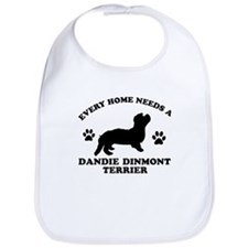 Every home needs a Dandie Dinmont Terrier Bib
