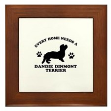 Every home needs a Dandie Dinmont Terrier Framed T
