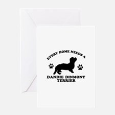 Every home needs a Dandie Dinmont Terrier Greeting
