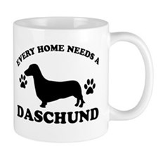 Every home needs a Daschund Mug