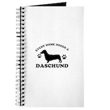 Every home needs a Daschund Journal