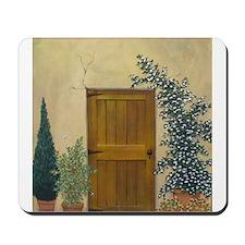 StephanieAM Wood Door Mousepad