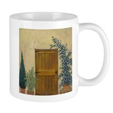 StephanieAM Wood Door Mug