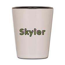 Skyler Spring Green Shot Glass