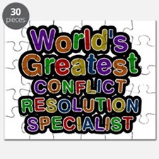 World's Greatest CONFLICT RESOLUTION SPECIALIST Pu