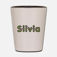 Silvia Spring Green Shot Glass