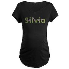 Silvia Spring Green Maternity T-Shirt