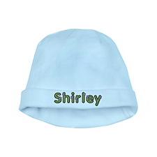 Shirley Spring Green baby hat