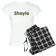 Shayla Spring Green Pajamas