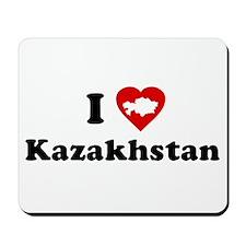 I Love [Heart] Kazakhstan Mousepad
