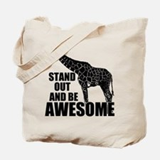Awesome Giraffe Tote Bag