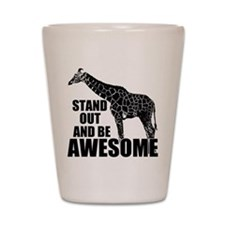 Awesome Giraffe Shot Glass