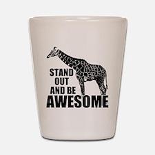 Awesome Giraffe Shot Glass