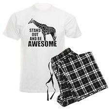 Awesome Giraffe Pajamas