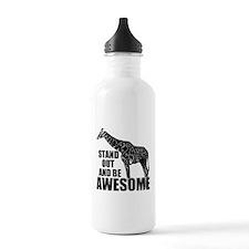 Awesome Giraffe Water Bottle