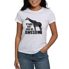 Awesome Giraffe Tee