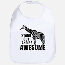 Awesome Giraffe Bib