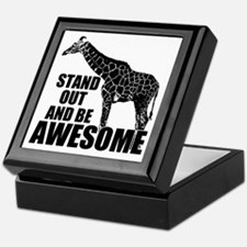 Awesome Giraffe Keepsake Box