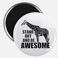 "Awesome Giraffe 2.25"" Magnet (10 pack)"