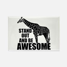 Awesome Giraffe Rectangle Magnet